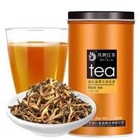 凤牌 中华老字号 茶叶 红茶 滇红茶特级 金丝滇红 金芽红茶 100g