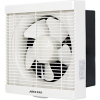 爱美信(AMX)APB20-SH1 排气扇排风扇换气扇厨房卫生间 百叶窗式单向带网墙窗式8寸