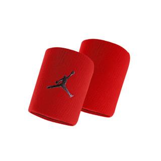 NIKE耐克Jordan飞人AJ吸汗护手腕带排球 篮球 健身 羽毛球 网球女男运动护腕 JKN01605OS 红色