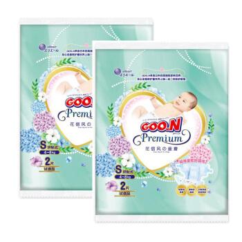 GOO.N 大王 花信风环贴系列 通用纸尿裤 S 4片