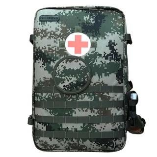兵行者S2015型新式军医背囊全套急救包丛林数码迷彩救生工具背囊集训救援包 全配款
