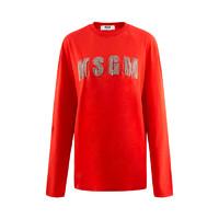 MSGM 新款字母刺绣卫衣