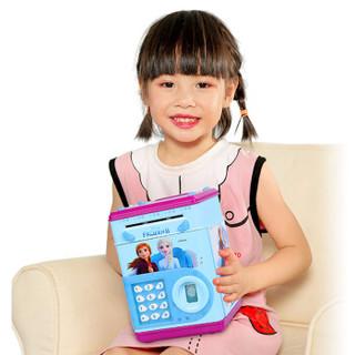 冰雪奇缘2 迪士尼儿童玩具故事机指纹存钱罐音乐卡通多功能储钱罐过家家玩具女孩礼物 DS-2572