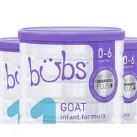 bubs 贝儿 婴幼儿宝宝奶粉800g 1段
