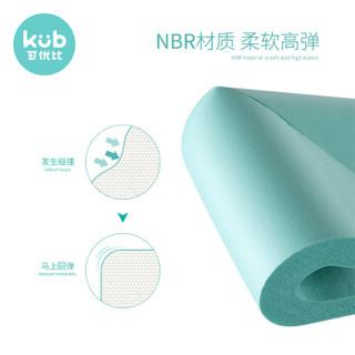 可优比(KUB)儿童防撞角防磕碰防撞条安全保护角宝宝桌角套L型防撞角绿色(4只装)