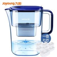九阳(Joyoung)净水壶(1壶7芯套装)家用滤水壶 过滤净水器 JYW-B05