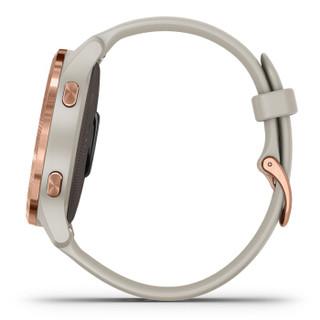 佳明 GarminVenu 玫瑰金 智能通知健康提醒时尚穿搭血氧心率监测跑步智能运动手表