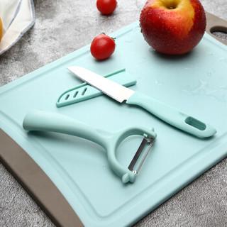 美厨(maxcook)水果刀削皮刀套装 不锈钢削皮器瓜刨刀具厨房工具两件套 MCD035