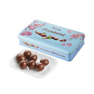马来西亚进口 爱芙(Alfredo)综合果仁牛奶巧克力礼盒180g