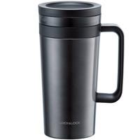 LOCK&LOCK 乐扣乐扣 不锈钢保温咖啡杯 580ml 黑色