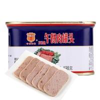 MALING 梅林B2 午餐肉罐头198g方便速食螺蛳粉火锅泡面搭档即食