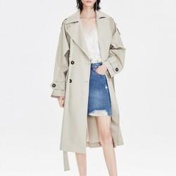 MO&Co. 摩安珂 MAI1TRC003C02 女士风衣外套