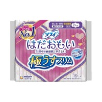 unicharm 尤妮佳 敏感肌 亲肤型 日用卫生巾 250mm 19片 *5件
