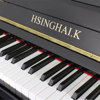 星海钢琴 凯旋K-119立式钢琴德国进口配件 初学者家庭考级