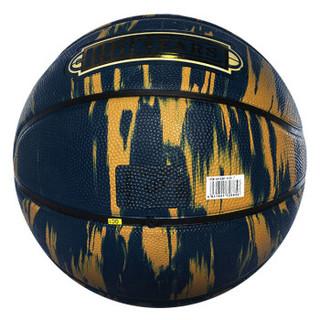 斯伯丁(SPALDING)125周年纪念款篮球 84-038Y橡胶材质 7号蓝球 蓝色