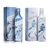 JOHNNIE WALKER 尊尼获加 威士忌 权力的游戏史塔克家族冰狼限量版 40度 700ml*2瓶