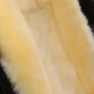 BOOST 冬季汽车坐垫 羊毛坐垫 中长毛单座垫 全车汽车座垫 毛垫五件套   时尚米