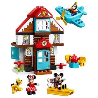 LEGO 乐高 得宝系列10889 米奇的度假小屋
