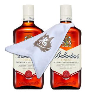 百龄坛(Ballantine's)特醇荣耀组合 苏格兰威士忌 500ml*2 双瓶装