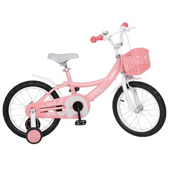 Happy Dino 小龙哈彼 LG1618-S317P 儿童自行车 粉色 16寸