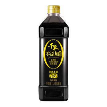 千禾 御藏本酿180天 零添加酱油 1L*2