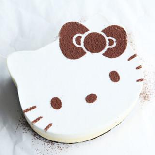 学厨CHEF MADE 烘焙模具 4寸HELLO KITTY(凯蒂猫)慕斯圈不锈钢蛋糕圈三件套蛋糕模具 KT7031