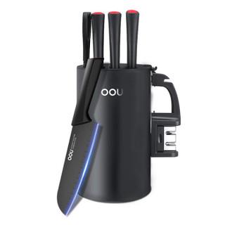 OOU!厨房刀具套装家用不锈钢菜刀套装鹤系列7件套刀UC4170