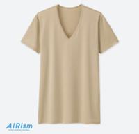 UNIQLO 优衣库 403522 AIRism 男士V领T恤