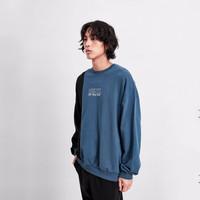 Vans 范斯 男女套头卫衣 新款拼接官方 灰蓝色 S *2件