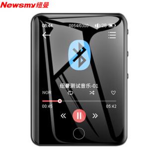纽曼(Newsmy)A29蓝牙词典版全面触屏2.8英寸mp3/mp4无损mp5音乐视频播放器学生英语随身听运动8G黑色