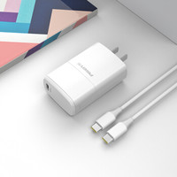 PISEN 品胜 GaN氮化镓充电器 65W + Type-C数据线 套装