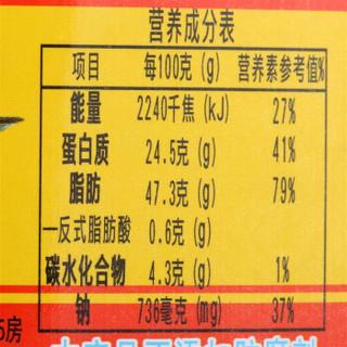 鹰金钱 鲜炸鲮鱼罐头227克/罐
