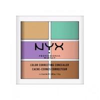 NYX Professional Makeup 6色修容遮瑕盘