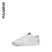 PULL&BEAR 鞋子男潮鞋刺孔花纹运动鞋男小白鞋男板鞋男 17214012