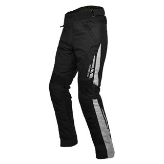 MOTOBOY摩托车骑行裤套装拉力服防风防水透气长途拉力机车裤四季装备 P06 灰色2XL