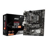 MSI 微星 B450M PRO-M2 MAX 主板 M-ATX(紧凑型) B450