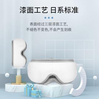 石崎秀儿(SURE)日本眼部按摩仪 眼部按摩器 护眼仪 SEM-PA0501 皓月白 折叠便捷智能气压 恒温按摩眼罩热敷