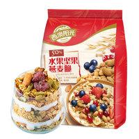 SEAMILD 西麦 水果坚果燕麦脆 350g