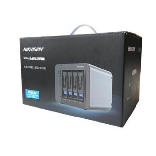 海康威视(HIKVISION) H304旗舰版 4盘位NAS网络存储服务器 企业私有网盘数据共享