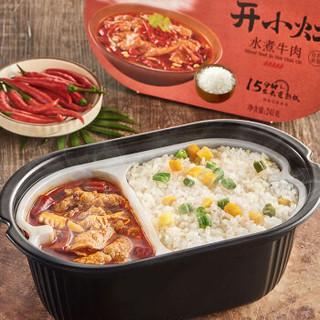 统一 开小灶 自热米饭 水煮牛肉 241克/盒 口味辣