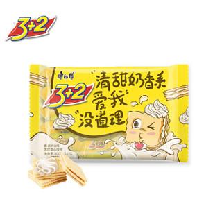 康师傅 3+2苏打夹心饼干蛋糕营养早餐办公室休闲零食小吃香浓奶油400g