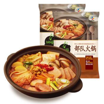 必品阁(bibigo)部队火锅汤 450g*2组合装 方便菜 韩餐 半成品菜 *5件