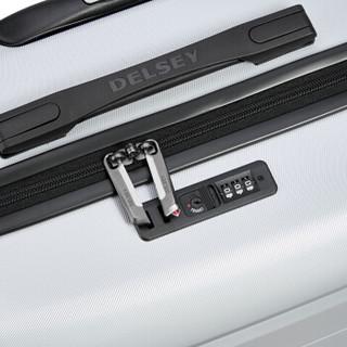 法国大使(Delsey)拉杆箱  时尚旅行箱行李箱 万向轮拉杆箱密码锁硬箱COMETE彗星 3039  象牙灰 20英寸