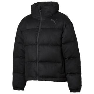 彪马 PUMA 女子 基础系列 480 Style Down Jacket 运动 羽绒外套 581612 01黑色 L码