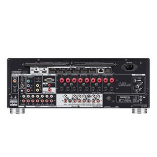 安桥(ONKYO)TX-RZ740 功放 音响 音箱 家庭影院 9.2声道功放机 4K蓝牙 杜比全景声 DTS:X THX Wi-Fi 大功率