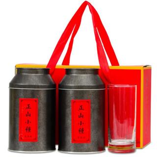 川盟 武夷山金骏眉正山小种1号 红茶茶叶礼盒 500g *2件