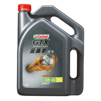 PLUS会员:Castrol 嘉实多 GTX 金嘉护 10W-40 合成技术机油 4L