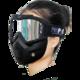 PROPRO复古风镜机车面罩摩托车头盔面具防风越野护目镜骑行眼镜目口罩 68元(需用券)