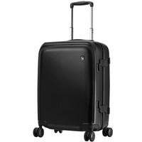 爱华仕(OIWAS) 时尚万向轮行李箱6566 飞机轮旅行箱商务出差 24英寸黑色