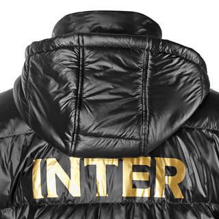 inter 国际米兰 Milan F0170 男士连帽羽绒服 黑色 XL